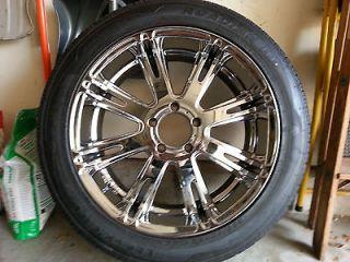 22 Inch Dale Earnhardt Jr. Rebel Rims & Tires 75% Tred Dodge Ram 5