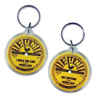 Johnny Cash   Sun Records   I Walk The Line   Get Rhythm Key Ring