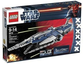 LEGO (9515) Star Wars Ep III THE MALEVOLENCE STARSHIP Set NO MINIFIGS