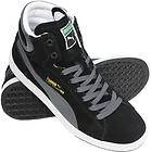 NEW MENS PUMA HIGH TOPS GENUINE FIRST ROUND BLACK MENS TRAINERS/SHOES