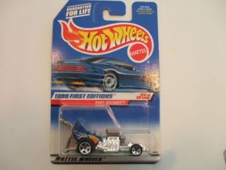 1999 Hot Wheels  BABY BOOMER  Old Style Front Engine Dragster