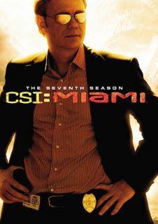 CSI Miami   The Complete Seventh Season DVD, 2009, 7 Disc Set