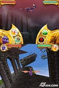 The Legend of Spyro Dawn of the Dragon Nintendo DS, 2008