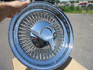 14 Chrome Dayton wire wheels 14 x 7 inch 80 spoke direct bolt on rims