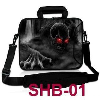 17 17.3 17.4 Skull Laptop Shoulder Bag Case Cover For Dell HP ACER
