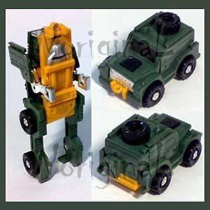 Transformers G1 Minibot BRAWN Land Rover Defender 4x4 #F