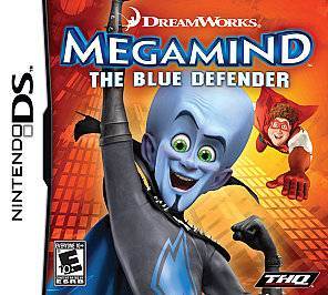 MegaMind The Blue Defender Nintendo DS, 2010