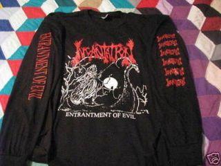 incantation entrantment of evil longsleeve t shirt death metal black