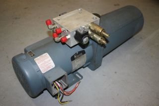 Delta Power Hydraulic Pump 230 Single Phase 3/4 HP