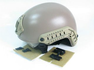 Special Forces helmet ACH Helmet W NVG Mount & Side Rail Head Loc RS