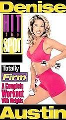 Denise Austin   Hit the Spot Gold Series Totally Firm VHS, 2000