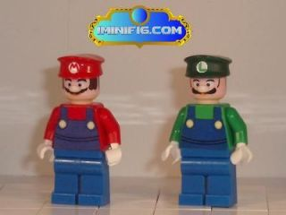 Custom LEGO Super Mario and Luigi #037A