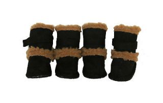 3M Designer DUGGZ Sherpa Pet Dog Shoes Boots Paw Wear