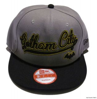 Batman Symbol Gotham City DC Comics Officially Licensed Snapback Cap
