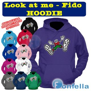 at Me   Retro Hoodie   Hooded Sweatshirt Fido Hoody Dido   7 up Hoody