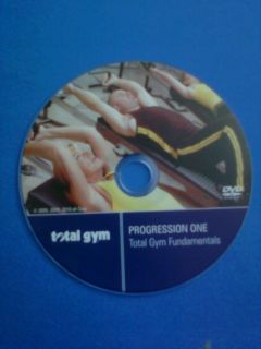 Progression One Total Gym Fundamentals DVD   FREE S/H