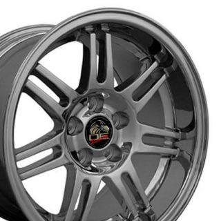 deep dish Rim 17 x10 wheels rims Chrome fit Mustang®