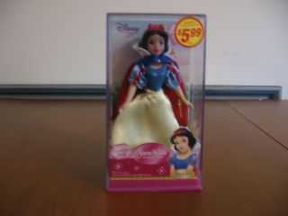 2005 WALT DISNEY SNOW WHITE SPECIAL EDITION BRASS KEY PORCELAIN DOLL 5