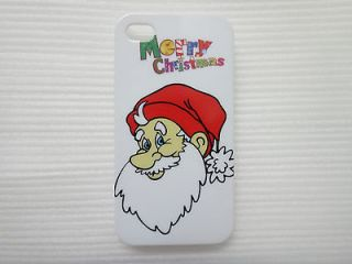 Mobile Cell Phone Hard Case Cover For iphone 4 4S Merry CHristmas