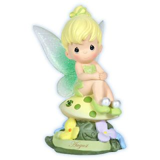 August Birthday Light Up Disney Precious Moments Figurine Peter Pan