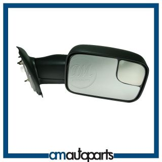 Dodge Ram Pickup Truck Power Heated Towing Side Door Mirror Passenger