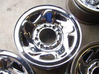 Dodge Ram Truck Van 8x6.5 chrome steel wheels rims Chevy 2500 3500