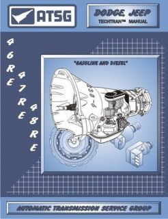 48RE ATSG SERVICE REBUILD TRANSMISSION MANUAL A518 A618 DODGE CHRYSLER