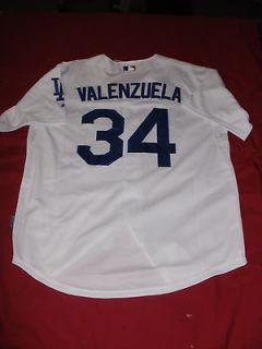 VINTAGE LOS ANGELES DODGERS FERNANDO VALENZUELA JERSEY (XL, XXL) NWT