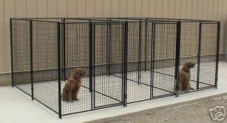 Outdoor Dog Kennels,Pet Fencing,Cages,​Large,Pen 4 Runs