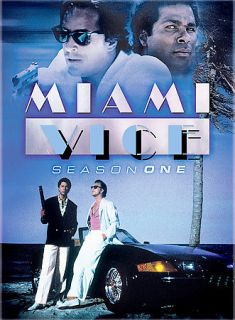 Miami Vice   Season 1 DVD, 2005, 3 Disc Set