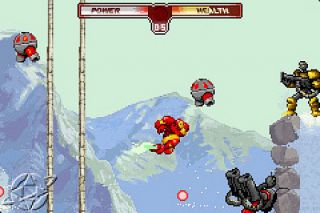 The Invincible Iron Man Nintendo Game Boy Advance, 2002