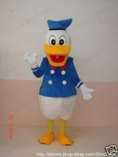 Donald Duck ADULT SIZE MASCOT COSTUME SUIT CLOTHING