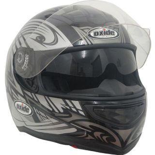 oxide dvs air pump full face motorbike helmet gunmetal dvs psi air