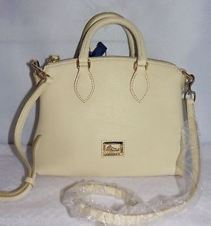 DOONEY AND BOURKE BONE LEATHER CROSSBODY SATCHEL BAG NEW WITH TAGS