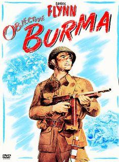 OBJECTIVE BURMA ERROL FLYNN JAMES BROWN DVD NEW