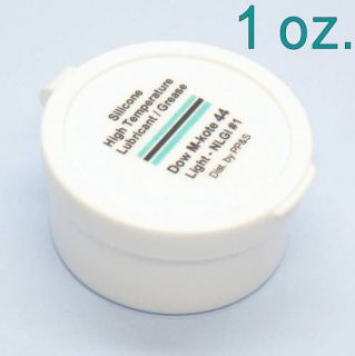 DOW MOLYKOTE 44 Silicone High Temp Bearing Grease Lube