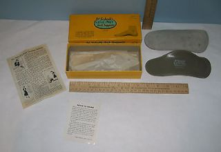 Dr Scholls FLEXO MET Arch Supports   VINTAGE   w/BOX and Instructions