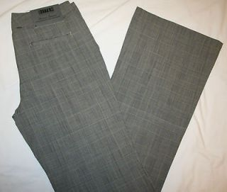 NWT Gray Plaid Dress Pants Bitten by Sarah Jessica Parker Mercer