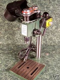 TINY MINI HOBBY BENCH DRILL PRESS 3 speed Variable NEW