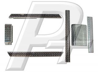 Club Car DS Golf Cart Diamond Plate Combo Accessory Kit