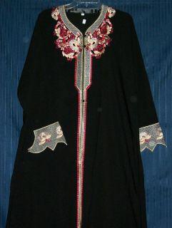 Abaya Dubai Hijab Islami Sheela Black Abayas Kurti Tunic Dupatta