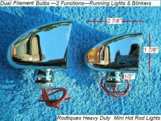 Dune Buggy Kit Car Golf Kart Parking Lights Blinkers AMBER