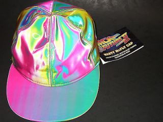 BTTF MARTY McFLY PROP REPLICA HAT (HOT) BACK TO THE FUTURE CAP cult