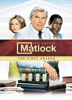 Matlock   The Complete Season One DVD, 2008, 7 Disc Set