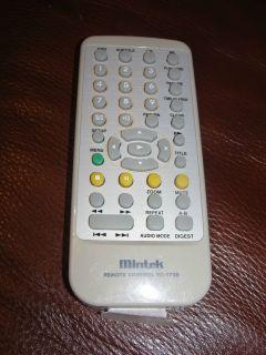 Mintek RC 1730 DVD Player Remote Control
