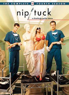 Nip Tuck   The Complete Fourth Season DVD, 2007, 5 Disc Set