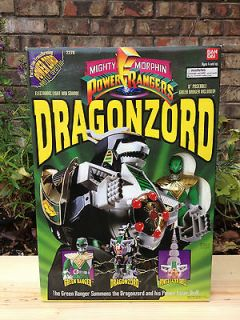 MIGHTY MORPHIN POWER RANGERS   GREEN DRAGONZORD   MINT   SEALED SINCE