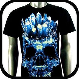 Rock Eagle T Shirt Biker Tattoo RE102 Sz XXXL 3XL Skull Glow In The