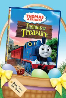 Friends   Thomas and the Treasure DVD, 2010, Easter Packaging