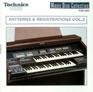 Patterns & Registrations VOL.1 Technics EN3 EN4 organ